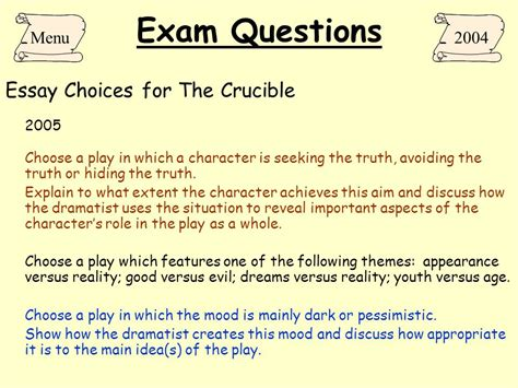crucible themes integrity the crucible arthur miller ppt download