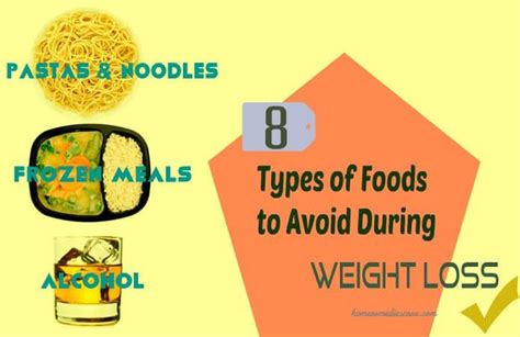 8 Things To Avoid Saying During 8 types of foods to avoid during weight loss say no to