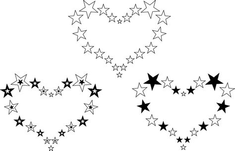 heart star tattoo designs hearts designs tattooshunt