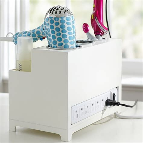 Hair Styler Organizer by Style Hair Hair Accessories And Plugs On