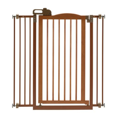 house dog gates tall one touch gate ii pet gate dog cat gates for house