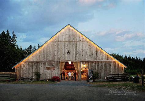 Farm Sheds Wa by Top Barn Wedding Venues Washington Rustic Weddings
