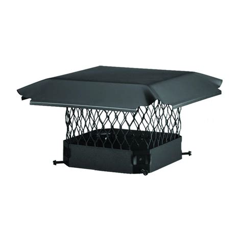 home depot chimney cap hy c 11 in x 11 in bolt on single flue chimney cap in
