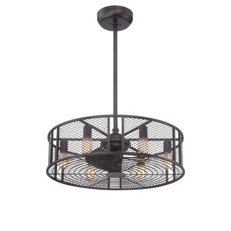rubbed bronze ceiling fan imports boyd collection 26 in led indoor rubbed