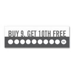 buy 10 get 1 free punch card templates customer loyalty business card buy 9 get 1 free