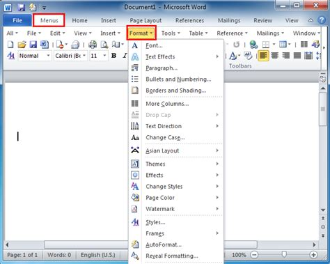 menu format excel 2007 format tab in excel 2010 missing unhide status bar in