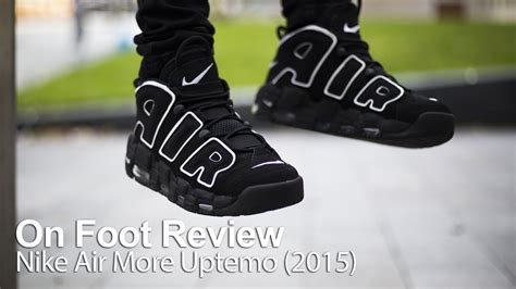 Harga Nike Air More Uptempo on foot review nike air more uptempo air