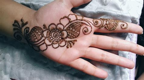 simple and adorable arabic henna designs step by step images pictures beautiful easy simple arabic henna mehendi designs for