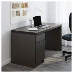 Desktop Computer Table Desktop Computer Table Malm Desk Black Brown Ikea