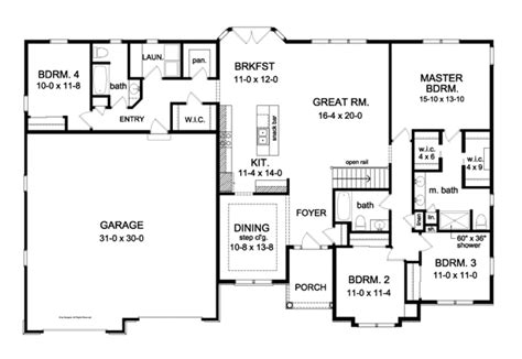 sprawling house plans 301 moved permanently