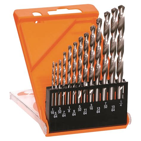 Drill Bit Set 13 hss drill bit set imperial 92250 discount