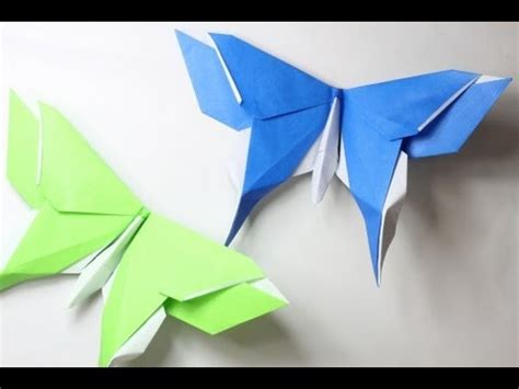 Origami Swallowtail Butterfly - how to make an origami butterfly michael lafosse