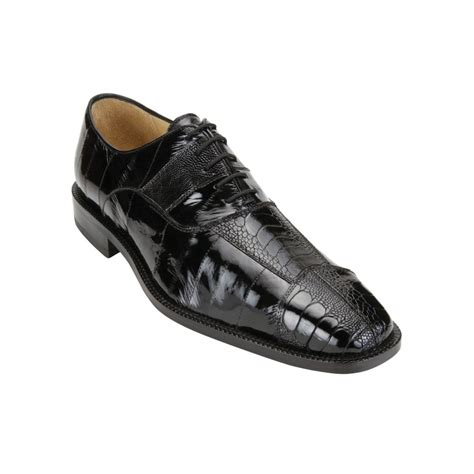 ostrich shoes belvedere mare ostrich eel shoes black mensdesignershoe
