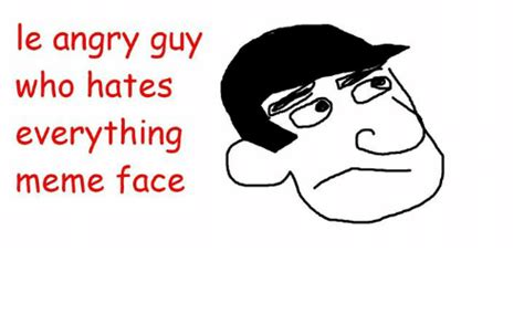 Angry Guy Meme - pin funny angry face cartoon on pinterest