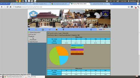 Aplikasi Hrd Web Base aplikasi psb penerimaan siswa baru web based dengan php the knownledge
