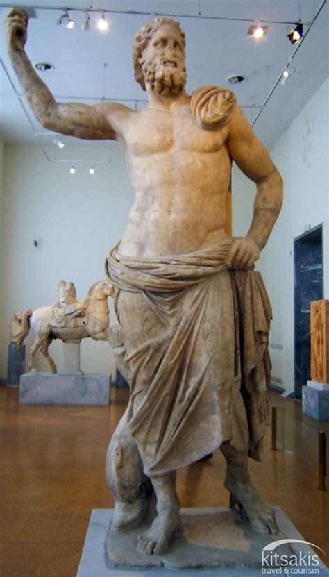 Find In Greece Marble Statue Of Poseidon 125 100 Bc It Was Found In