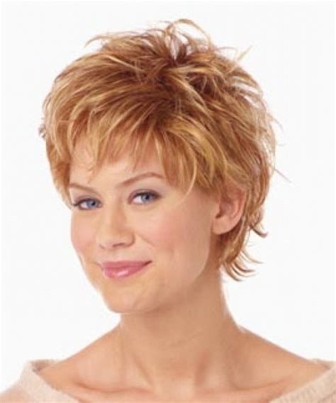 pictures of short hair on big women short hair styles for mature women
