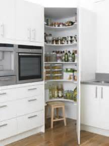 kitchen corner cupboard on corner pantry