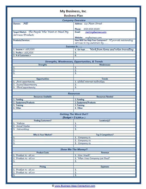 business plan template word peerpex