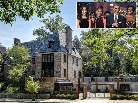 obama home the obama family will live in d c mansion after