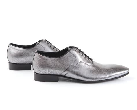 chaussures homme grises mariage