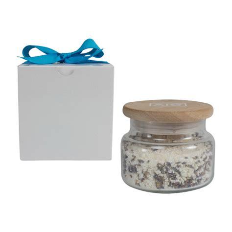 Herborist Bath Salt Calming Lavender 250 Gr 10 oz bath salts with lavender buds usimprints