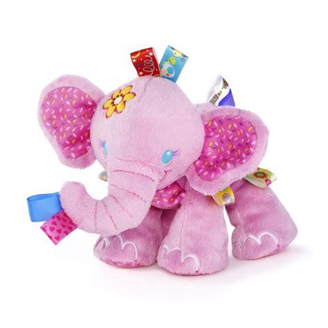 Soft Crib Mattress For Toddler New Animal Taggies Elephant Soft Stuffed Plush Crib Bed Hanging Rattles Baby Toys