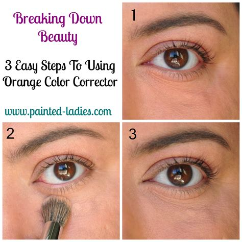 3 easy steps to banish eye circles with an orange