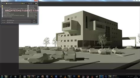 tutorial thea render sketchup sketchup kerkythea tutorial clay rendering youtube