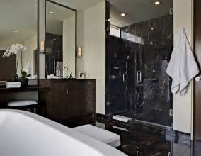 Black Bathroom Tile Ideas by 30 Black Marble Bathroom Tiles Ideas And Pictures