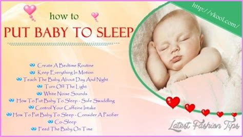 How To Get My Baby To Nap In His Crib How To Put My Baby To Sleep Latestfashiontips