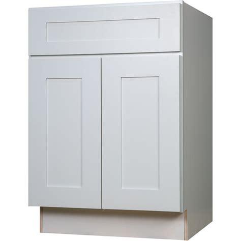 everyday cabinets 24 inch white shaker base kitchen