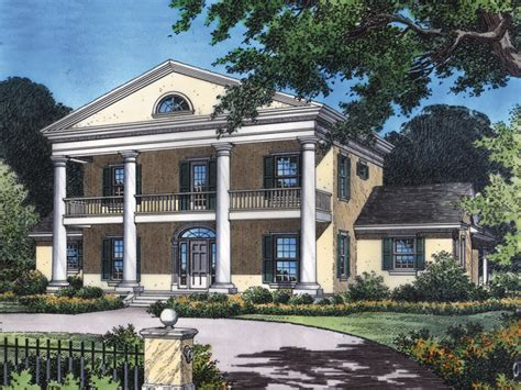 antebellum home plans dunnellon plantation home plan 047d 0178 house plans and more
