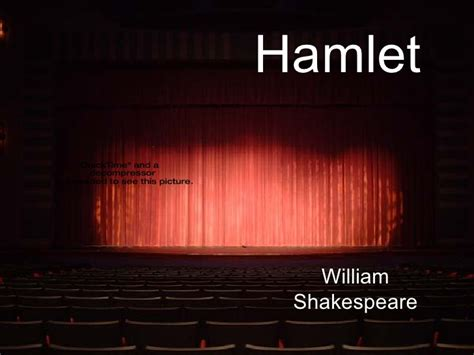 Hamlet Powerpoint Shakespeare Powerpoint Template