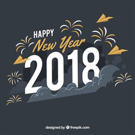 Imagenes Vintage Año Nuevo 2018   fondo de feliz a 241 o nuevo 2018 en estilo vintage
