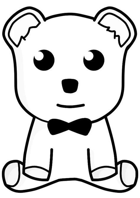 imagenes a lapiz de osos dibujo para colorear oso de peluche img 21156
