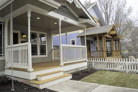 Home Plans With Front Porches by Front Porch And A White Picket Fence Dream House Pinterest