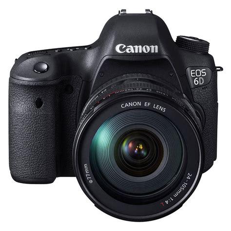 eos 6d dslr canon eos 6d dslr 24 105mm f 4 0 l is usm