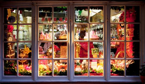 christmas storefront think insurance