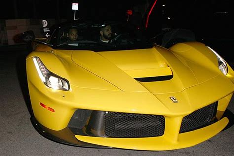 drake ferrari drake spotted with n1 2billion ferrari laferrari sports