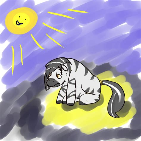 sunlight l for sad sad zebra in sun by redragon1384 on deviantart