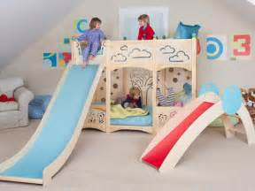 Toddler Bunk Bed With Slide Stylish Bunk Beds For