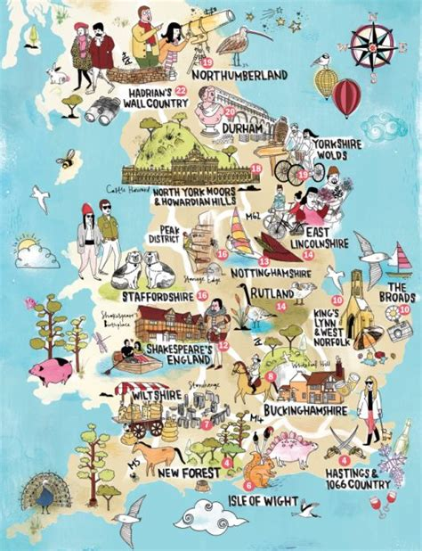 visitors london map and guide samuel french a lovely illustrated map of england showing the top attractions
