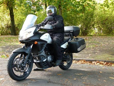Suche Leichtes Motorrad F R Wohnmobil by Test Suzuki V Strom 650 Abs Reise Enduro F 252 R