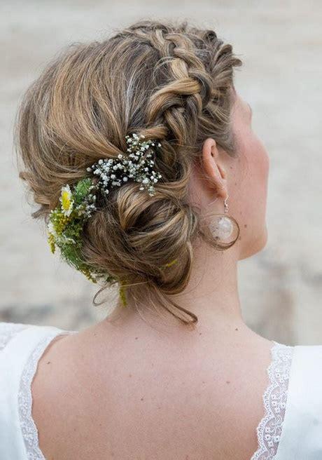 Hochzeitsfrisuren Schlicht by Hochzeitsfrisur Schlicht
