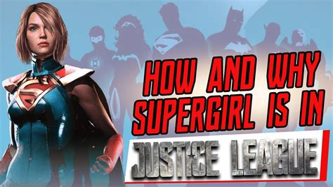 film justice league tayang justice league theory why and how supergirl will be in
