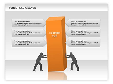 field analysis diagram template field analysis for powerpoint presentations