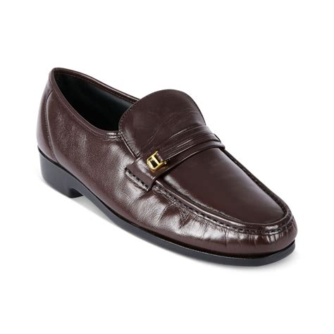 florsheim loafers for florsheim riva moc toe loafers in for burgundy