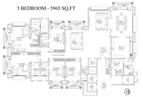Mantri Espana Floor Plan mantri espana 4 5 bedroom apartments bangalore