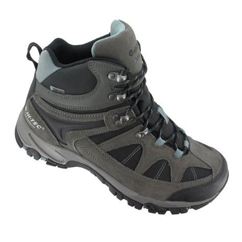 and boots hi tec altitude lite i mens grey black waterproof walking